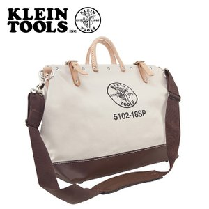 KLEIN TOOLS クラインツールズ Deluxe Canvas Tool Bag 5102-18SP Natural 【カバン】ツールバック キャンバス|highball