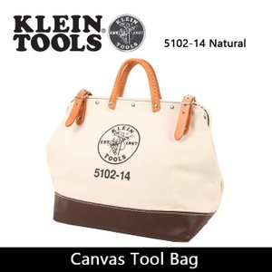 KLEIN TOOLS クラインツールズ Canvas Tool Bag 5102-14 Natural 【カバン】ツールバック キャンバス|highball