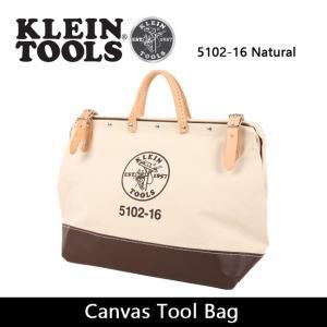 KLEIN TOOLS クラインツールズ Canvas Tool Bag 5102-16 Natural 【カバン】ツールバック キャンバス|highball