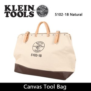 KLEIN TOOLS クラインツールズ Canvas Tool Bag 5102-18 Natural 【カバン】ツールバック キャンバス|highball