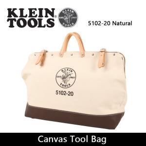 KLEIN TOOLS クラインツールズ Canvas Tool Bag 5102-20 Natural 【カバン】ツールバック キャンバス|highball
