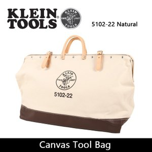 KLEIN TOOLS クラインツールズ Canvas Tool Bag 5102-22 Natural 【カバン】ツールバック キャンバス|highball