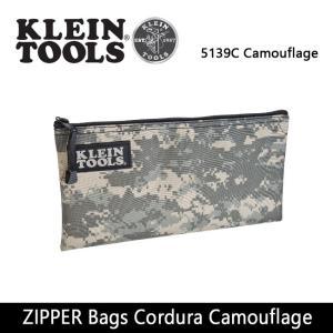 KLEIN TOOLS クラインツールズ ZIPPER Bags Cordura Camouflage 5139C Camouflage 【カバン】ポーチ【メール便・代引不可】|highball