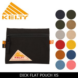 KELTY ケルティー DICK FLAT POUCH XS ディック・フラット・ポーチ XS 2592167【かばん】 ポーチ【メール便・代引き不可】 highball