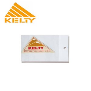 KELTY ケルティー LOGO STICKERS S ロゴ ステッカー S 2018100 【ステッカー/アウトドア】 highball