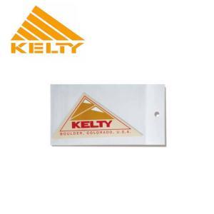 KELTY ケルティー LOGO STICKERS M ロゴ ステッカー M 2018101 【ステッカー/アウトドア】 highball