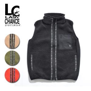 LAST CHANCE ラストチャンス Retro Boa Fleece Vest LC18FW-002 【アウトドア/フリース/メンズ/ウィメンズ】|highball