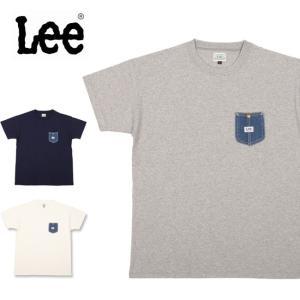 Lee リー Tシャツ Denim Poket Tee LB0232 【服】【t-cnr】 メンズ|highball