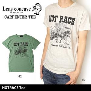 レンズコンケイブ Lens concave Tシャツ HOTRACE Tee L599433 【メール便・代引不可】|highball