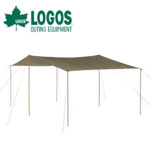 LOGOS ロゴス neos LCドームFitレクタタープ 5036-AI 71805054 【タープ/日よけ/アウトドア/キャンプ】|highball