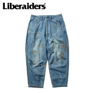 Liberaiders リベレイダース DENIM PAINTER SARROUEL PANTS デニムペインターサルエルパンツ 727022103 【アウトドア/ビンテージ/ボトムス】 highball