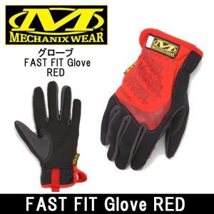 MechanixWear メカニクスウェア  グローブ FAST FIT Glove RED|highball