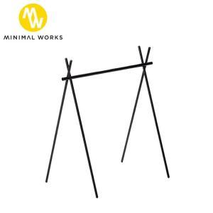 MINIMAL WORKS ミニマルワークス INDIAN HANGER L インディアンハンガー MGFU-IH000-GO3BK 【アウトドア/キャンプ】|highball