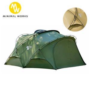 MINIMAL WORKS ミニマルワークス SHELTER G シェルターG MGSH-SG170-GO0 【テント/アウトドア/キャンプ】|highball
