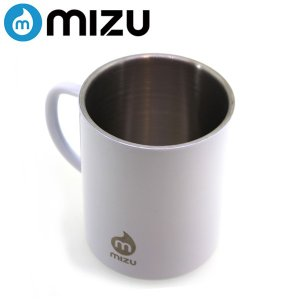 mizu/ミズ ボトル CAMP CUP Glossy White LE (480ml)|highball