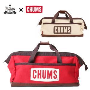CHUMS×MIKANコラボ Tool Box Bag ツールボックスバッグ CH60-2594 【ペグケース/マルチケース/ハンマー/アウトドア/コンテナ】|highball