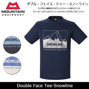 MOUNTAIN EQUIPMENT/マウンテン イクイップメント Tシャツ Double Face Tee-Snowline 423753 【服】