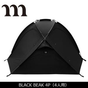 MURACO/ムラコ BLACK BEAK 4P(4人用) 【TENTARP】【TENT】 テント アウトドア キャンプ|highball