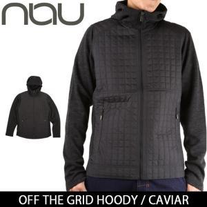 NAU / ナウ OFF THE GRID HOODY  CAVIAR 【服】ジャケット アウター アウトドア メンズ|highball