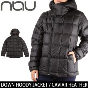 NAU / ナウ DOWN HOODY JACKET CAVIAR HEATHER 【服】ジャケット ダウンジャケット アウター アウトドア メンズ|highball