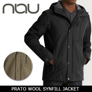NAU / ナウ PRATO WOOL SYNFILL JACKET  【服】ジャケット アウター アウトドア メンズ|highball