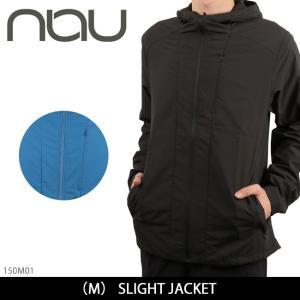 NAU / ナウ SLIGHT JACKET 150M01 【服】メンズ アウター ジャンパー パーカー アウトドア 耐水性 耐風性 軽量 パッカブル 撥水性|highball