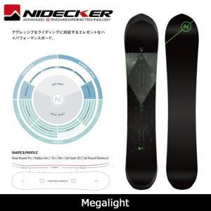 2018 NIDECKER ナイデッカー スノーボード Megalight 【板】日本正規品|highball