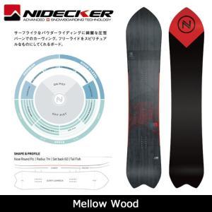 2018 NIDECKER ナイデッカー スノーボード Mellow Wood 【板】日本正規品|highball