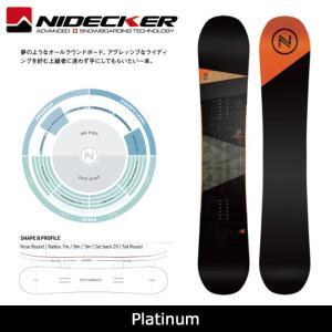 2018 NIDECKER ナイデッカー スノーボード Platinum 【板】日本正規品|highball