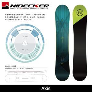 2018 NIDECKER ナイデッカー スノーボード Axis 【板】日本正規品|highball