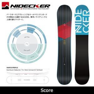 2018 NIDECKER ナイデッカー スノーボード Score 【板】日本正規品|highball