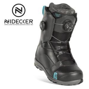 2019 NIDECKER ナイデッカー LUNAR HEEL-LOCK FOCUS 【ブーツ/スノーボード/日本正規品/レディース/FLOW】|highball