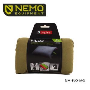 【NEMO Equipment/ニーモ・イクイップメント】ピロー FILLO フィッロ モスグリーン NM-FLO-MG アウトドア寝具 ピロー 枕 アウトドア お買い得!【即日発送】|highball