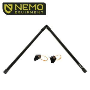 NEMO Equipment ニーモ・イクイップメント ADJUSTABLE TARP POLE E...