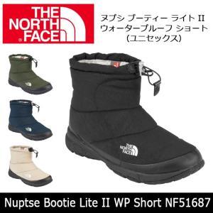 ノースフェイス THE NORTH FACE ブーツ ヌプシ ブーティー ライト II ウォータープルーフ ショート  NF51687