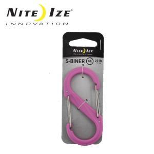 ナイトアイズ NITE-IZE キーホルダー Sビナ プラスチックNo4/SBP4-03-12/ピンク/日本正規品|highball