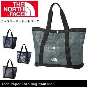 ノースフェイス THE NORTH FACE トートバッグ テックペーパートートバッグ Tech Paper Tote Bag NM81663 【NF-BAG】|highball