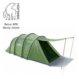 NORDISK ノルディスク Reisa 6 PU (レイサー 6) PUDusty Green(6人用テント) 122032 【テント/アウトドア/キャンプ/日よけ】 highball