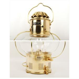 日本船燈株式会社 ニッセン 灯油ランプ ボートランプ 1型 【LITE】真鍮板製 燈 灯油ランプ マリン 日船|highball|03