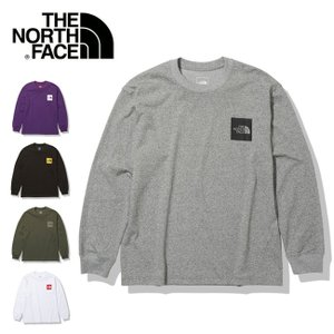 THE NORTH FACE ノースフェイス ロングスリーブスクエアロゴティー NT82136【Tシャツ/トップス/日本正規品】【メール便・代引不可】 highball