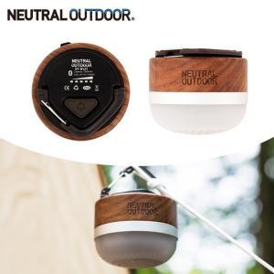 NEUTRAL OUTDOOR ニュートラルアウトドア Wood Speaker Lantern ウッドスピーカーランタン NT-WL01 36779【LED/スピーカー/音楽/マグネット/Bluetooth/充電式】|highball