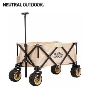 NEUTRAL OUTDOOR ニュートラルアウトドア オフロードキャリアワゴンII NT-CW03  43648 【アウトドア/キャンプ/BBQ/乗り物/買い物/フリーマーケット】|highball