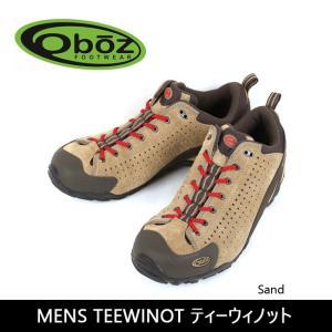 OBOZ オボズ MENS TEEWINOT ティーウィノット Sand 40501 【靴】 スニーカー ファッション アウトドア|highball