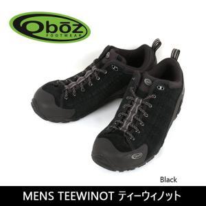 OBOZ オボズ MENS TEEWINOT ティーウィノット Black 40501 【靴】 スニーカー ファッション アウトドア|highball