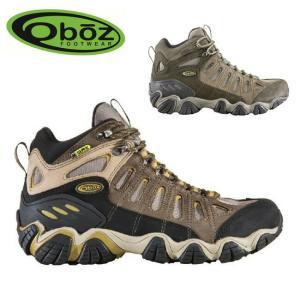 OBOZ オボズ トレッキングシューズ Sawtooth Mid B-Dry 20701 【靴】メンズ|highball