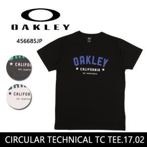 【メール便発送・代引き不可】OAKLEY オークリー Tシャツ CIRCULAR TECHNICAL TC TEE.17.02 456685JP 【服】メンズ|highball