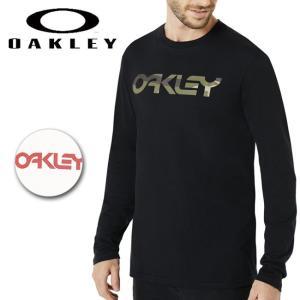 OAKLEY オークリー Mark II L/S Tee 457134 【日本正規品/長袖/シャツ/クルーネック】【メール便・代引不可】|highball