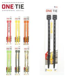 ONE TIE ワンタイ ワンタイ 14インチ(2本セット)  【ストラップ/バンド/アウトドア/キャンプ】|highball
