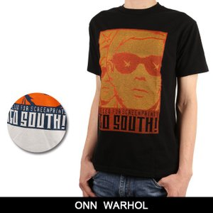 ONN Tシャツ ANDY WARHOL アンディ ウォーホル 【服】【t-cnr】 トップス ファッション フェス アウトドア【メール便・代引不可】|highball