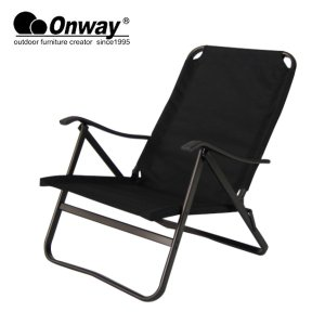 Onway/オンウエー チェア ローチェア Low Chair BLK/OW-61-BLK|highball